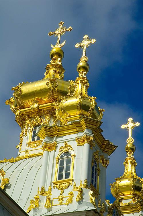 The Peterhof or Petrodvorets