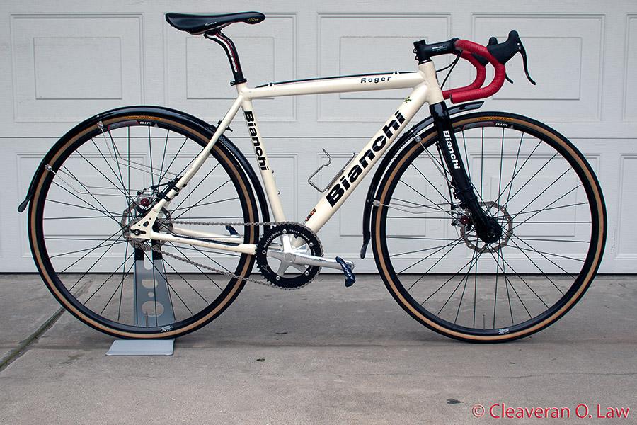 Stoemper single speed disc brake cyclocross bike