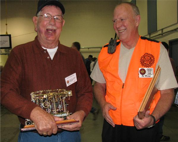 (5) Ken Beselin and his Best of Show engine