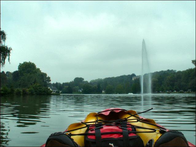 Encore un peu, je me croirais sur le Lac de Genève...