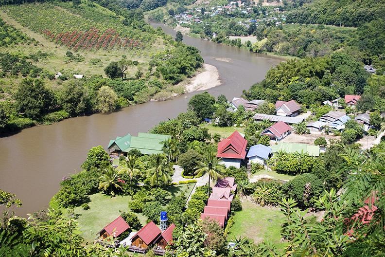 chiang rai, village