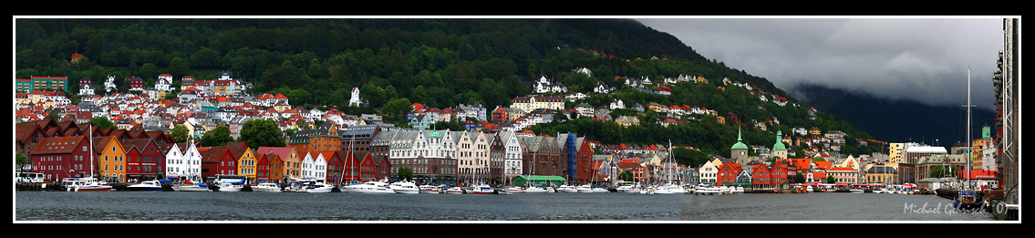 Old Bergen Harbour