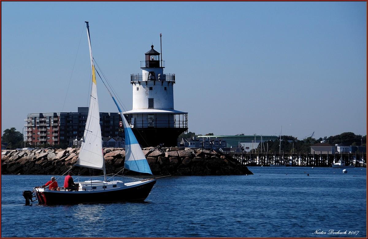 Spring Point Ledgehouse lighthouse