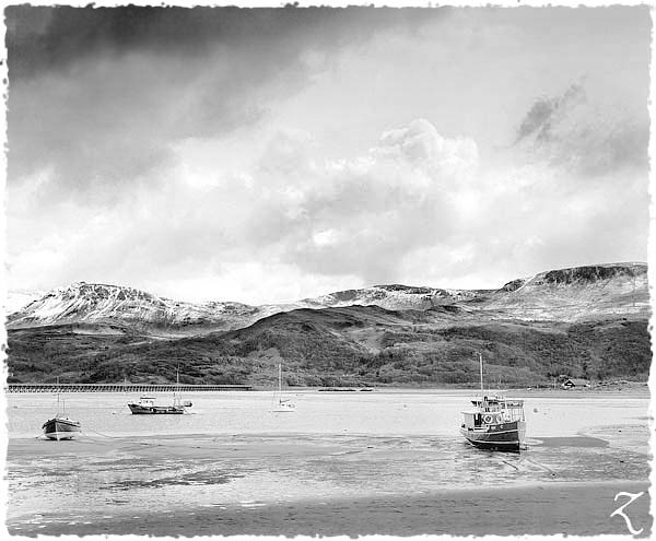 Barmouth in early spring
