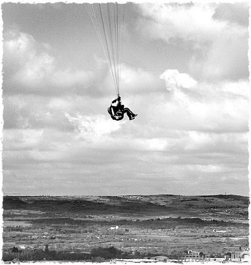 Hangin over Stroud, Glos.