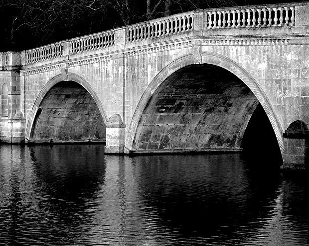 The Bridge, Clumber, Notts.