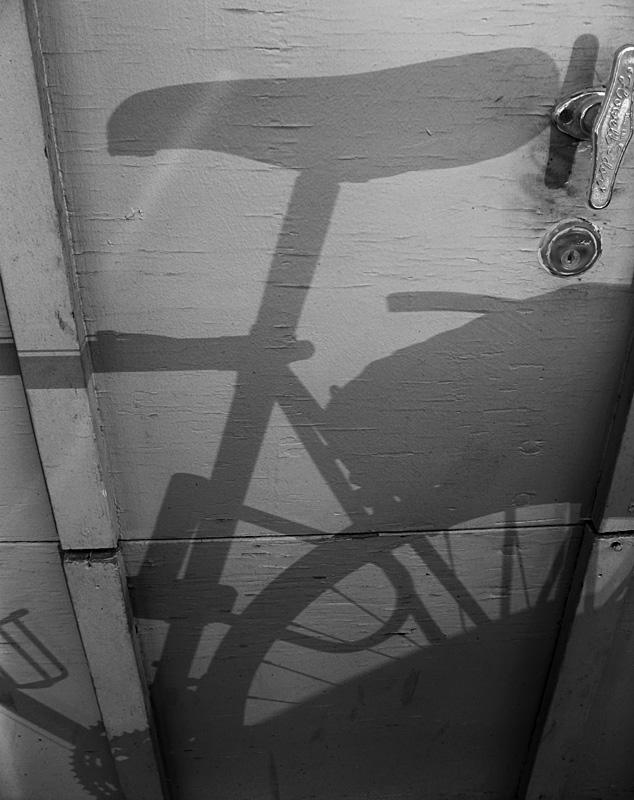 Bike Shadow by Reflection<br>1410