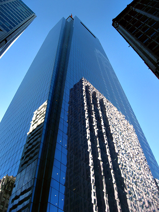 Comcast Building and Reflections