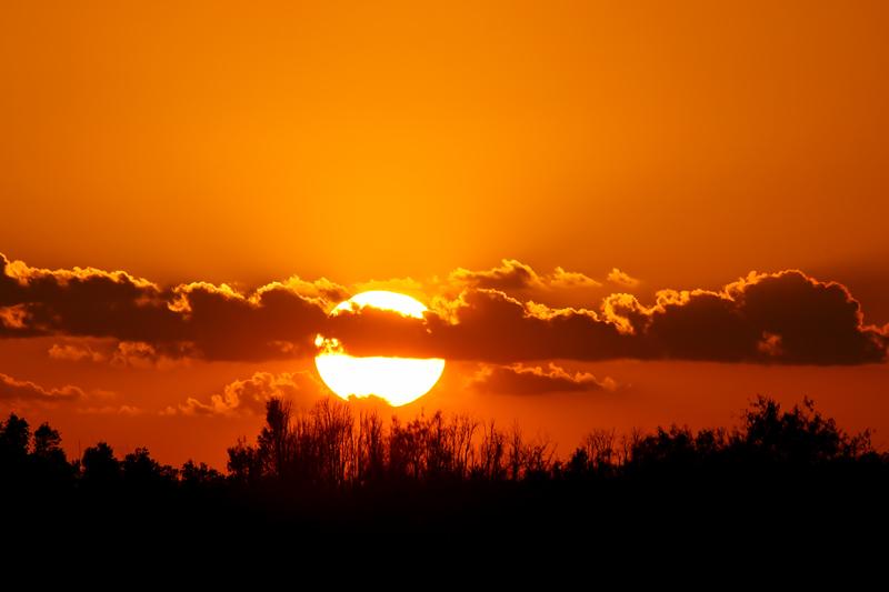 Sunset, Loxahatchee