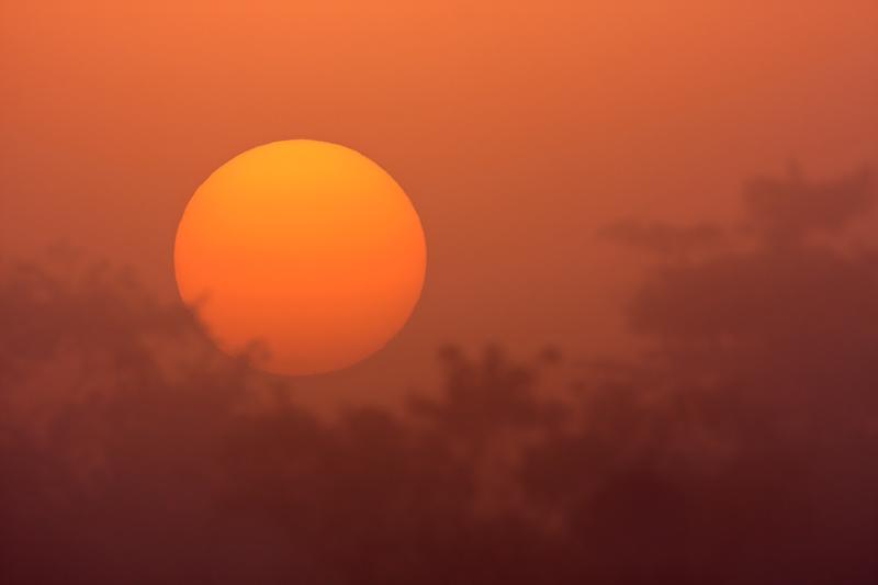sunrise at Everglades National Park