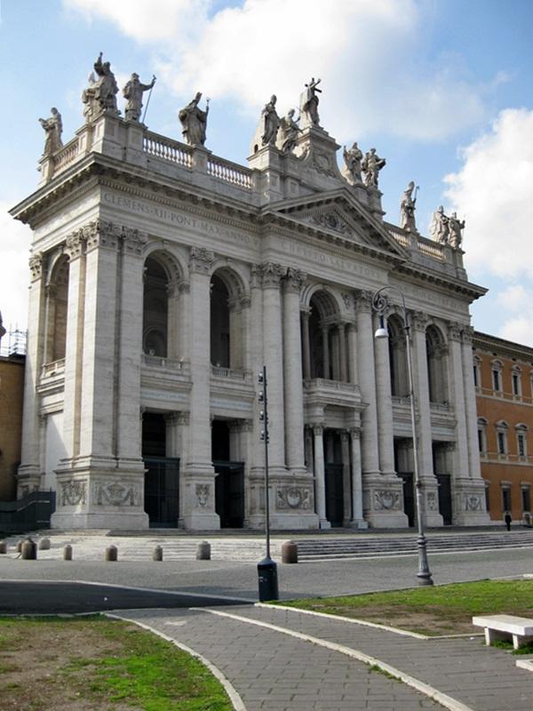 Roma. Chiesa de San Giovanni in Laterano