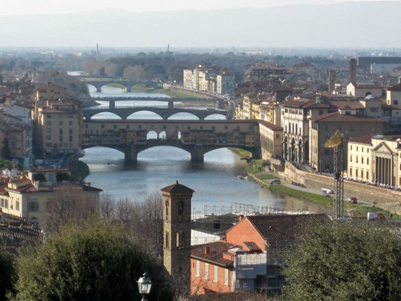 Firenze. Rio Arno