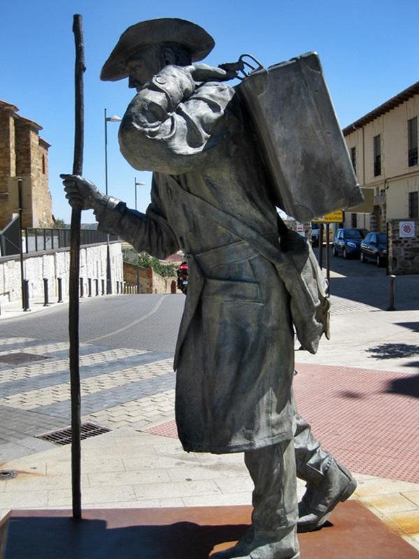 Astorga. Monumento al Peregrino