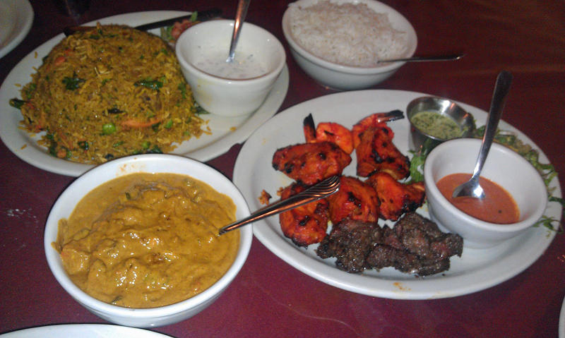 Nepalese trio for dinner