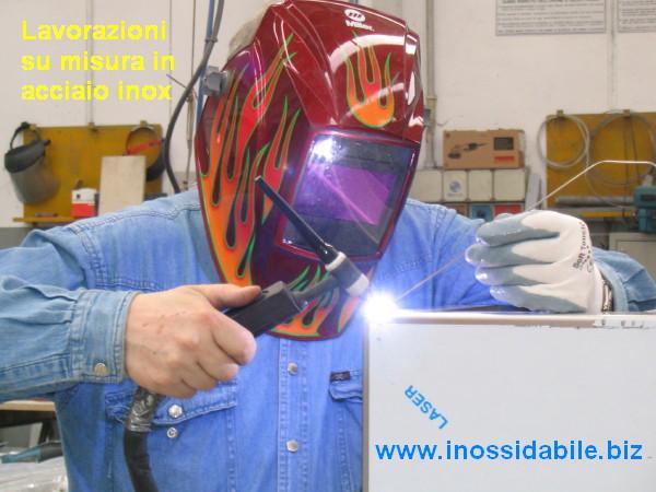 saldatura a tig su acciaio inox Centro inox su misura