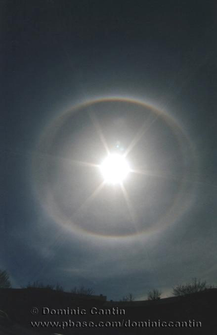 Circumscribed and 22° Solar Halos