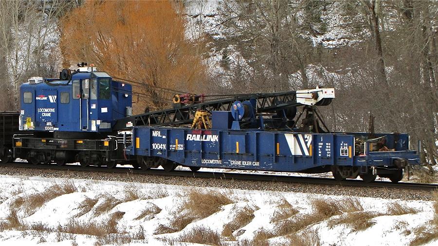 MRL 100411 Crane, MRL 100410 Idler Flat - Avon, MT (1/13/11)