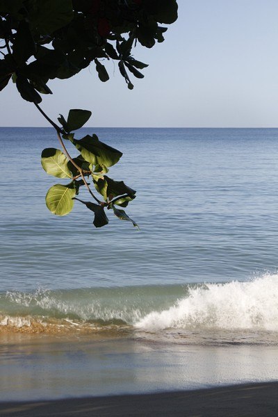 2.  The gentle Caribbean Sea.