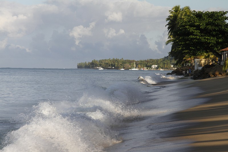 5.  Further up the beach towards Rincon.