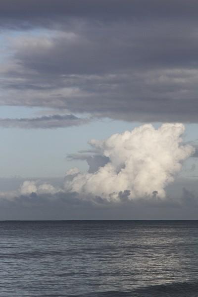 7.  Clouds north of Aguada from Tamboo Restaurant at Puntas.