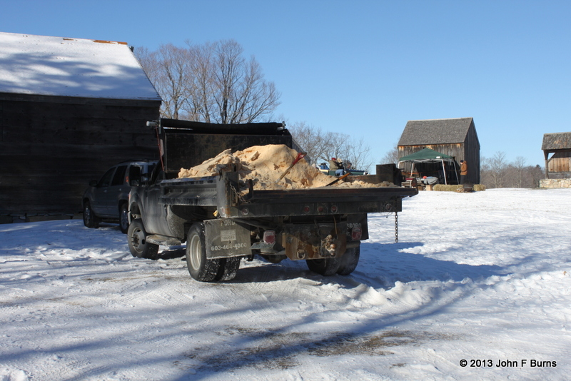 Another Load of Sawdust to Pack Ice House