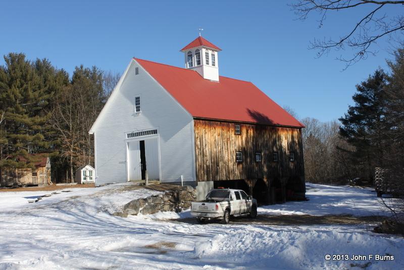 Muster Field Barn