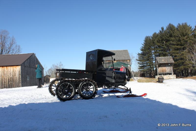 Model TT Ford Truck Snowmobile