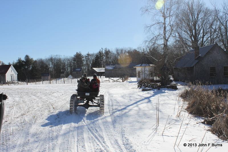 Snowmobile Rides