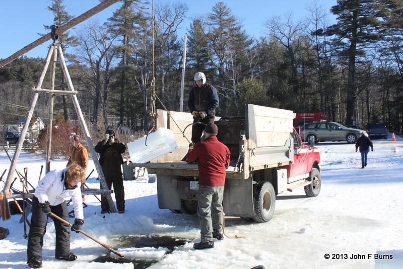 Loading the Trucks