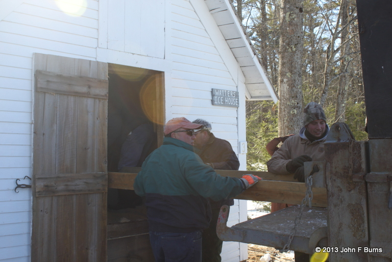 Sliding the Ice into the Ice House
