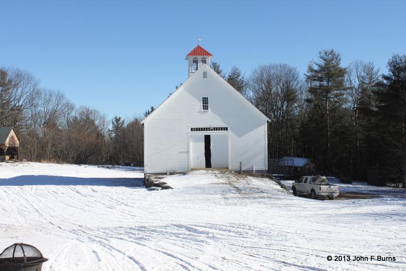 Muster Field Farm Barn