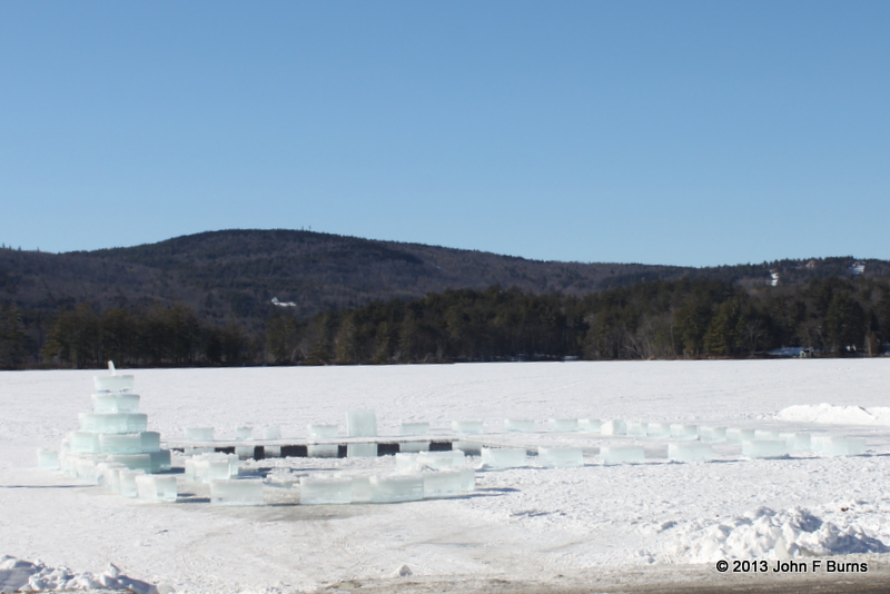 Kezar Lake after the Ice Cutting