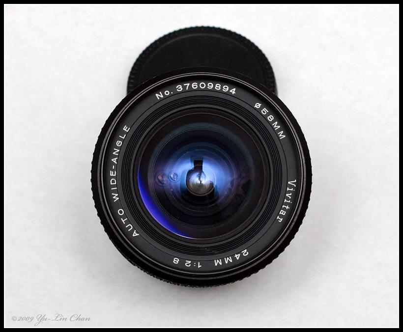 Vivitar 24mm f2.8 made by Tokina