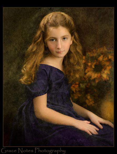 Elisabetta & Her Sunflowers