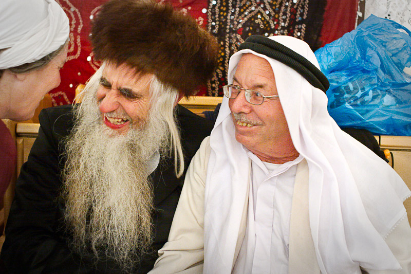 Rabbi Fruman and Ibrahim
