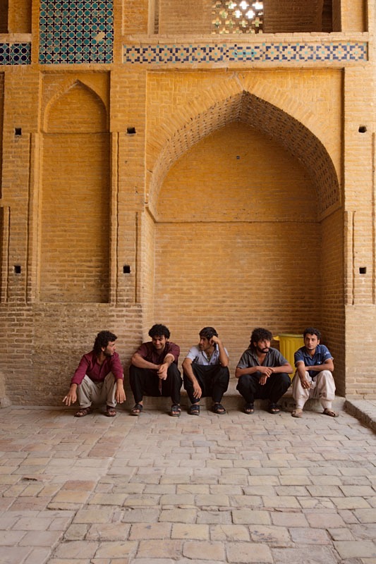 Waiting inside the tomb - Esfahan