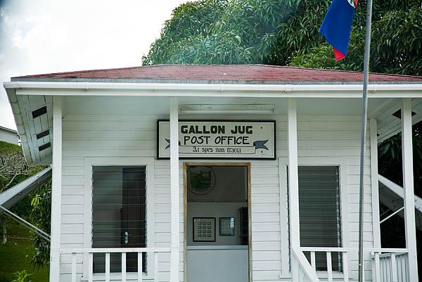 Gallon Jug Post Office
