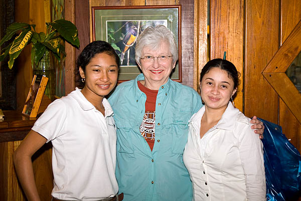 Carmela, Marie and Erica.  They served us well.
