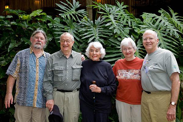 Mike, Doug, Patricia, Marie, & Jim
