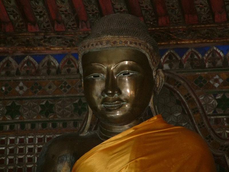 Burmese-style Buddha Statute
