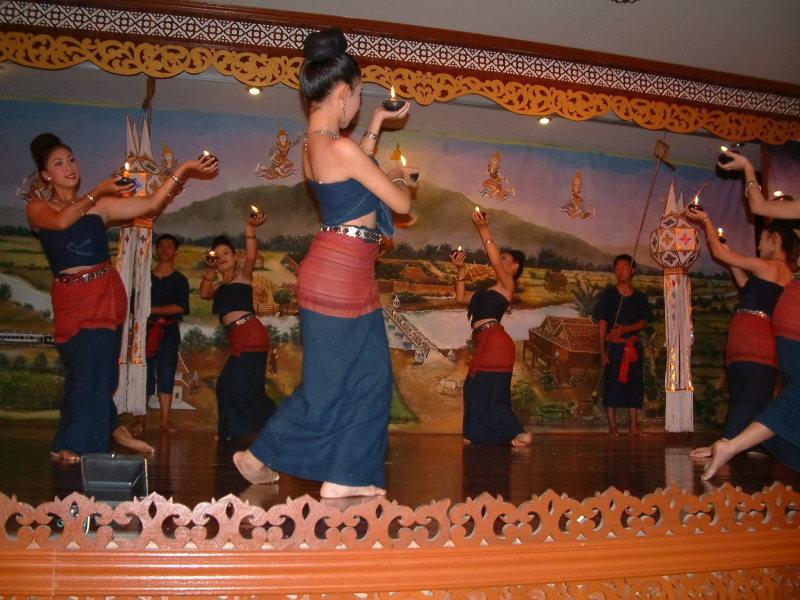 Dancing in Chiang Mai