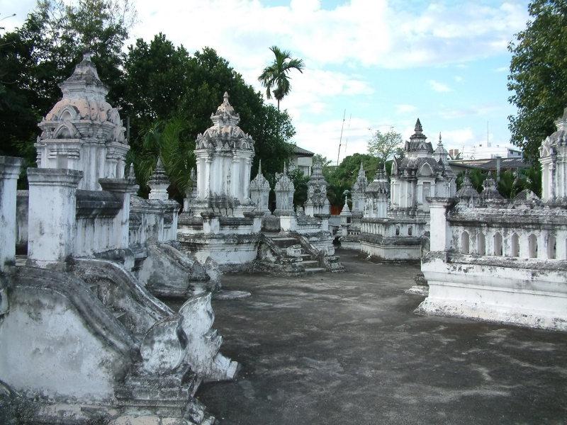 Memorial Markers Near Chiang Mai