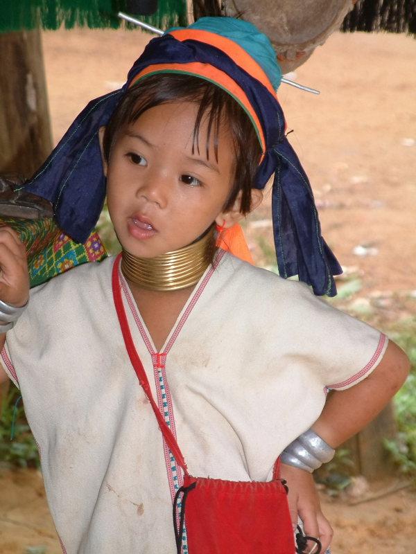 Young Karen Girl Near Mae Hong Son
