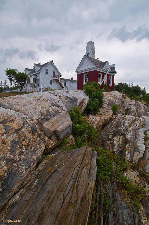 Pemaquid Point Light - Bell house