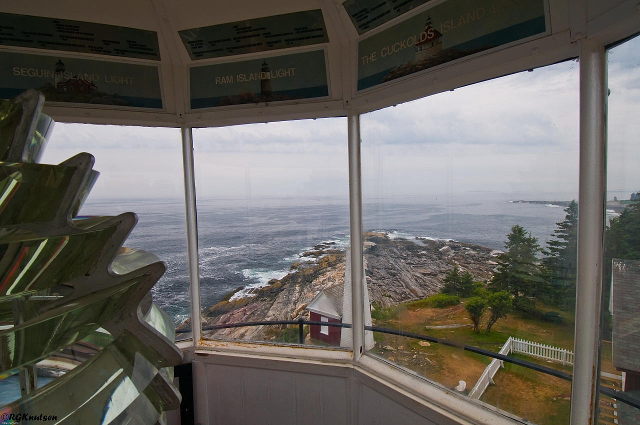 Pemaquid Point Light - View from inside
