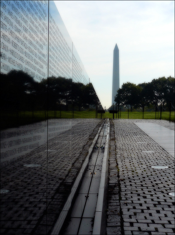 The Vietnam Veterans Memorial Wall - Washington