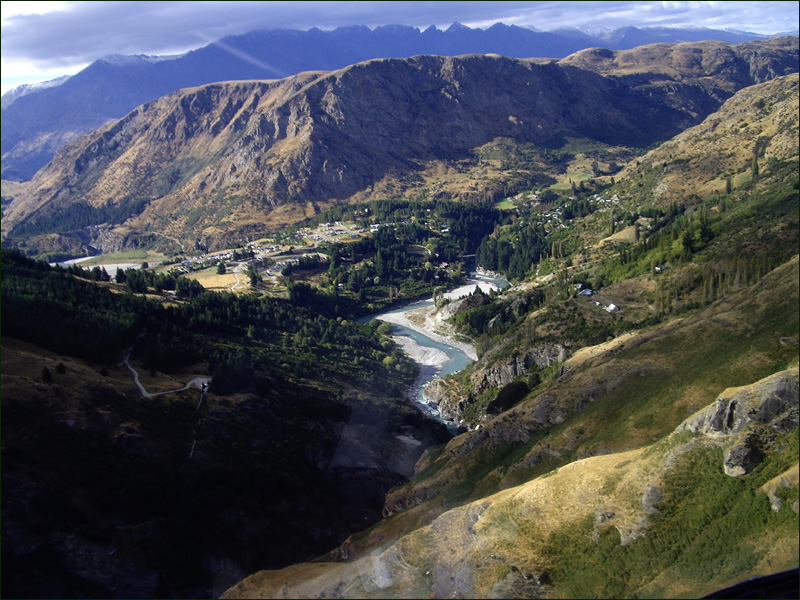 Shotover from the Heli