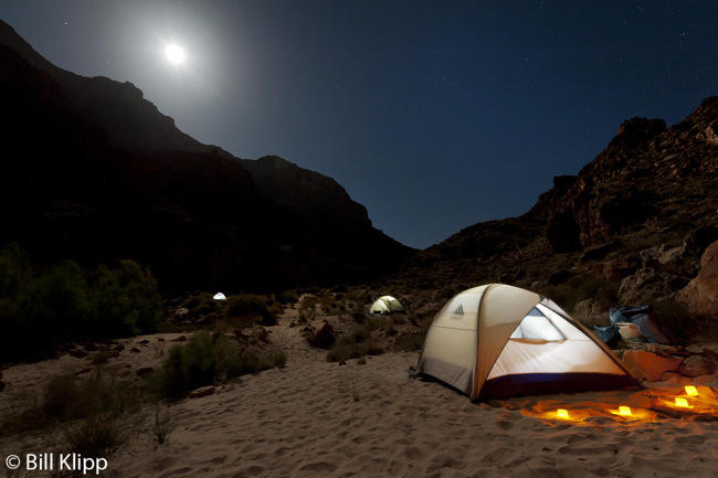 Moon rise at South Canyon Camp  1