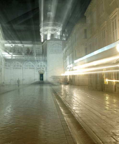 Night Scene --- Dubrovinik, Croatia 1