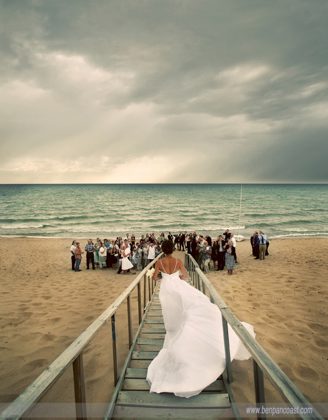 Featured In S Magazine Bride One Of My Favorite Beach Weddings